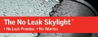 no leak skylights velux