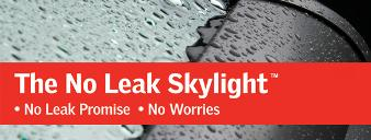 no leak skylight